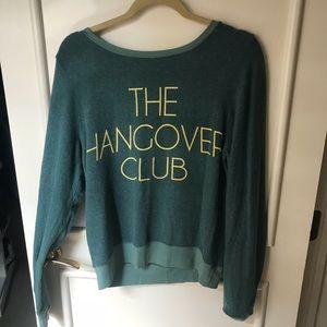 Wildfox hangover club sweatshirt size s